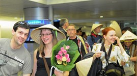 International arrivals to Vietnam