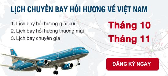 Thủ tục xin hoi huong Viet Nam